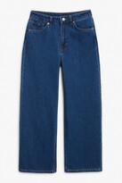 Thumbnail for your product : Monki Mozik deep indigo jeans