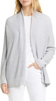 Eileen Fisher Organic Cotton Open Front Cardigan
