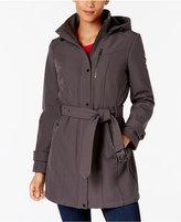 MICHAEL Michael Kors Hooded Softshell Raincoat