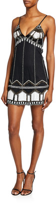 Alexis Jayna Beaded Mini Dress