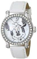 Ingersoll Women's IND25677 Minnie Wrist Art Analog Display Quartz White Watch