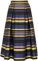 Whistles Kay Stripe Midi Skirt