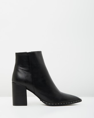Tony Bianco Women's Black Heeled Boots - Bailey - Size 5 at The Iconic