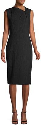 Jason Wu Collection Textured Knee-Length Sheath Dress