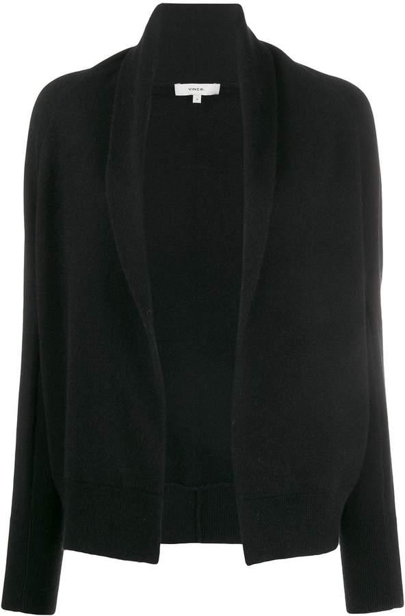 Vince open front cashmere cardigan