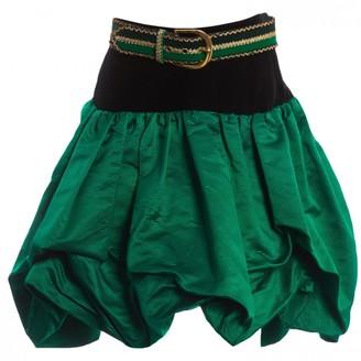 Saint Laurent Green Skirt for Women Vintage
