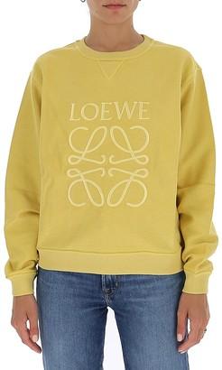 Loewe Anagram Embroidered Sweatshirt