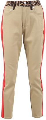 Burberry Skinny Fit Animal Print Jeans