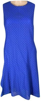Akris Punto Blue Cotton Dress for Women