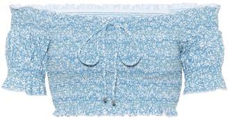 Jonathan Simkhai ChloA off-shoulder bikini top