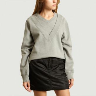 Maison Margiela Grey Double Collar Sweatshirt - s   cotton   grey - Grey/Grey