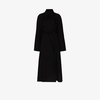 Lemaire Belted Wool Trench Coat