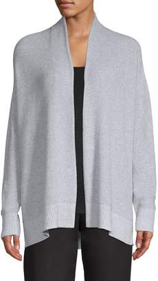 Eileen Fisher Open-Front Cotton Cardigan