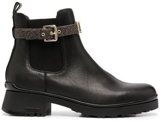 Liu Jo Buckle-Strap Boots