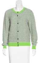Carven Marbled Button-Up Cardigan w/ Tags
