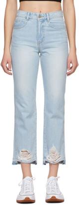 Sjyp Blue Sideline Jeans