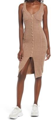 Lavish Alice Corset Rib Knit Dress