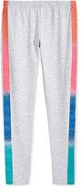 Epic Threads Rainbow-Stripe Tuxedo Leggings, Big Girls (7-16), Only at Macy's