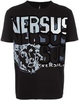 Versus lion print T-shirt - men - Cotton - S