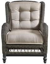 Paula Deen Dogwood Lounge Patio Chair with Cushions (Set of 2 Home Cushion Color: Cast Ash