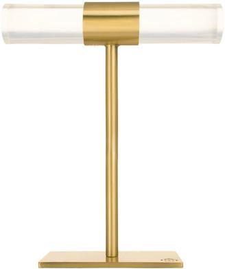Kendra Scott Large Antiqued Brass & Acrylic T-Bar
