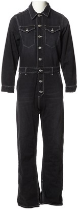 Ganni Black Denim - Jeans Jumpsuits