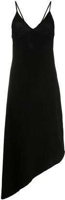 Thom Krom Asymmetric Hem Midi Dress