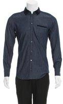 Dolce & Gabbana Long Sleeve Button-Up Shirt