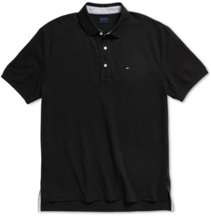 Tommy Hilfiger Adaptive Men's Classic-Fit Ivy Polo Shirt with Magnetic Closures