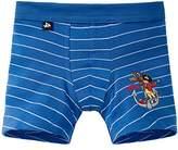 Schiesser Boy's Boxer Shorts - Blue -
