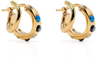 Panconesi Stellar Gems Hoop Earrings
