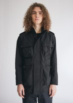 A-Cold-Wall* A Cold Wall* Men's Drawcord Pocket Field Jacket in Black, Size Small