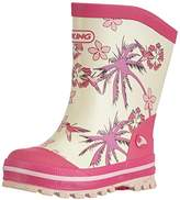 Viking Girls Flora Unlined Rubber Boots Long Shaft Boots & Bootees Pink Size: EU