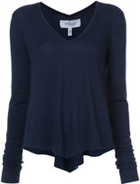 Derek Lam 10 Crosby tiered V-neck pullover