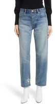 Rebecca Taylor Women's Sylvie High Waist Straight Leg Ankle Jeans