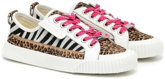 Jimmy Choo Impala Lo/F animal-print sneakers