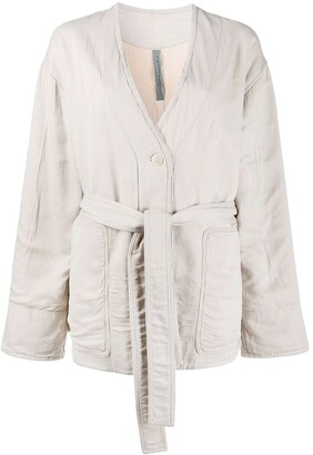 Raquel Allegra Quilted Sateen jacket