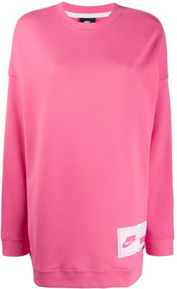 Nike NSW fleece sweater dress