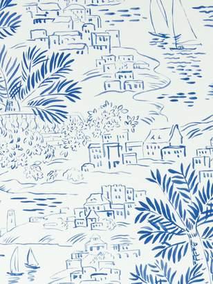 Ralph Lauren Homeport Novelty Wallpaper, Marine, Prl030/03