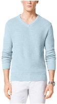 Michael Kors V-Neck Cotton Sweater