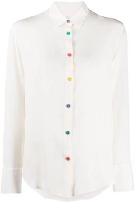 Paul Smith Pointed Collar Silk Shirt