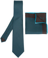 Brioni tie/square set - men - Silk - One Size
