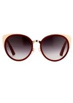 Matthew Williamson Garnet Playful Cat Eye Sunglasses