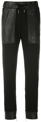 Andrea Bogosian Contrast Panel Track Trousers