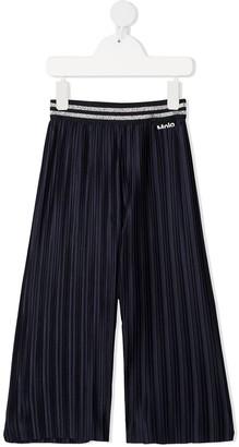 Molo Stripe-Detail Pleated Trousers