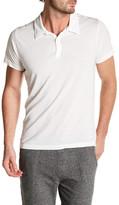 Save Khaki Short Sleeve Jersey Polo