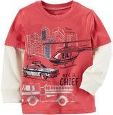 Carter's Long Sleeve T-Shirt-Preschool Boys