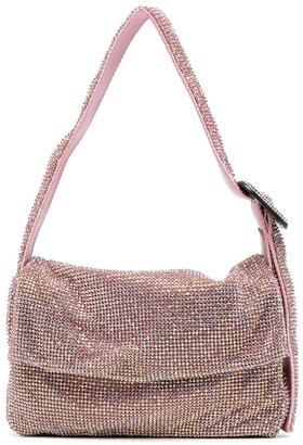 Benedetta Bruzziches Monique Mignon Crystal Mesh bag