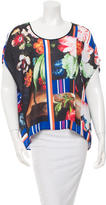 Clover Canyon Oversized Print Top