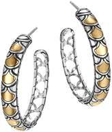 John Hardy Sterling Silver & 18K Gold Naga Medium Hoop Earrings